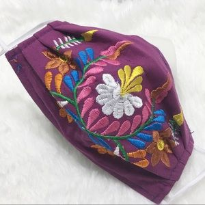 ❤️Handmade Embroidered Colorful Face Mask!❤️